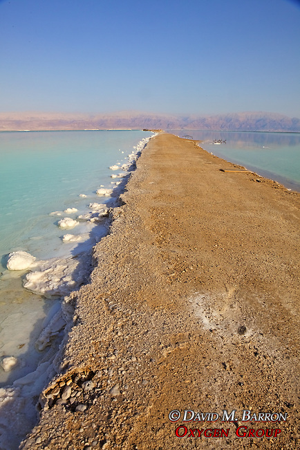 Dead Sea Pathway For Salt Works