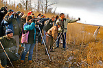 Nature conservancy group observes eagles in Millville, New Jersey