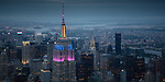 USA, New York, Manhattan, aerial, Empire State Building