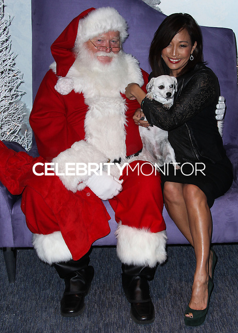 LOS ANGELES, CA - NOVEMBER 14: Carrie Ann Inaba at Beverly Center Holiday Debut With Stars And Their Pets held at The Beverly Center on November 14, 2013 in Los Angeles, California. (Photo by Xavier Collin/Celebrity Monitor)