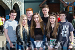 Conor Twomey, Jess Meyer, Jonathon Cronin, Grace O'Reilly, Aaron Buckley Danielle TwomeyThomas Healy, Kilgarvan Youth club at the Kerry Youth club day in the INEC on Sunday