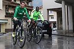11.07.2017, Sportplatz, Zell am Ziller, AUT, TL Werder Bremen 2017 - Training Tag 05, <br /> <br /> im Bild <br /> Jiri Pavlenka (Werder Bremen #1)<br /> Lamine San&eacute; / Sane (Werder Bremen #26)<br /> Foto &copy; nordphoto / Kokenge