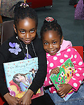 Joy and Favour Chuks at Storytime in Drogheda Library as part of World Book Day....Photo NEWSFILE/Jenny Matthews.