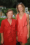 Christine Nichols, Flora Wiegmann==<br /> LAXART 5th Annual Garden Party Presented by Tory Burch==<br /> Private Residence, Beverly Hills, CA==<br /> August 3, 2014==<br /> &copy;LAXART==<br /> Photo: DAVID CROTTY/Laxart.com==