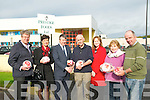 Prestige Foods: Pictured at the announcement of funding to Prestige Foods by North & East Kerry Development at its premises in Listowel on Monday last were Edward Breen, NEKD, Joan McCarthy, KCC, John O'Connor, Managing Direcrtor, Prestige Foods, Bernard Collins, Chairman NEKD, Eilsh Broderick, NEKD, Peggy O'Connell, NEKD & John Dalton, NEKD.