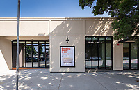 The Oxy Arts community art center in Highland Park, located on the corner of York Blvd. and Armadale Ave. (4757 York Blvd.) photographed on Sept. 9, 2019.<br /> (Photo by Marc Campos, Occidental College Photographer)