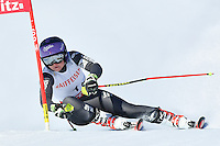 February 16, 2017: Tessa WORLEY (FRA) competing in the women's giant slalom event at the FIS Alpine World Ski Championships at St Moritz, Switzerland. Photo Sydney Low