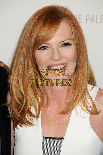 Marg Helgenberger<br /> PaleyFest Previews: Fall TV Flashback &quot;China Beach&quot; held at The Paley Center, Beverly Hills, California, USA, 13th September 2013.<br /> portrait headshot white smiling <br /> CAP/ADM/BP<br /> &copy;Byron Purvis/AdMedia/Capital Pictures