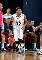 Florida International University guard Jeremy Allen (32) plays against Florida Atlantic University, which won the game 66-64 on January 21, 2012 at Miami, Florida. .