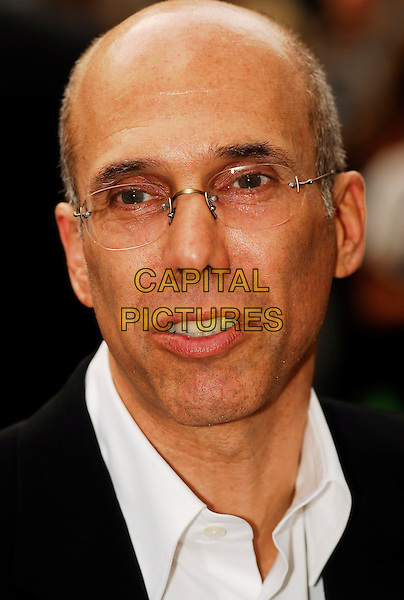 "JEFFREY KATZENBERG.Attending the UK Premiere of ""Shrek The Third"",.Odeon Leicester Square, London, England,.June 11th 2007..portrait headshot glasses.CAP/IA.©Ian Allis/Capital Pictures"