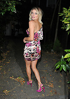 Ashley James at the 84 World Summer Garden Party, Winchester House, Lower Richmond Road, London, England, UK, on Wednesday 03rd July 2019.<br /> CAP/CAN<br /> ©CAN/Capital Pictures