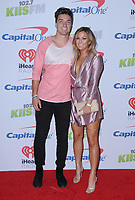 01 December  2017 - Inglewood, California - Dean Unglert, Becca Tilley. 2017 102.7 KIIS FM's Jingle Ball held at The Forum in Inglewood. Photo Credit: Birdie Thompson/AdMedia