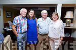 Enjoying the hospitality evening in the Brogue Inn on Tuesday evening. l to r: Tim Walsh and Mary Spring (The Willows), Tom and Joesphine Molyneaux (Cois Li BB)