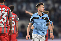 Patric Gil Gabarron of Lazio celebrates after scoring<br /> Roma 14-1-2020 Stadio Olimpico <br /> Football Coppa Italia 2019/2020 <br /> SS Lazio - Cremonese <br /> Foto Antonietta Baldassarre / Insidefoto