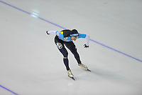 SCHAATSEN: Calgary: Essent ISU World Sprint Speedskating Championships, 28-01-2012, 1000m Heren, Denis Kuzin (KAZ), ©foto Martin de Jong
