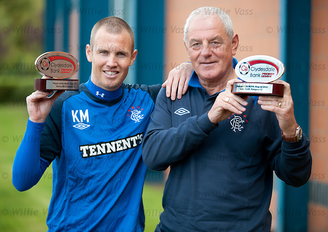 Kenny Miller and Walter Smith are Player and Manager of the Month for August 2010