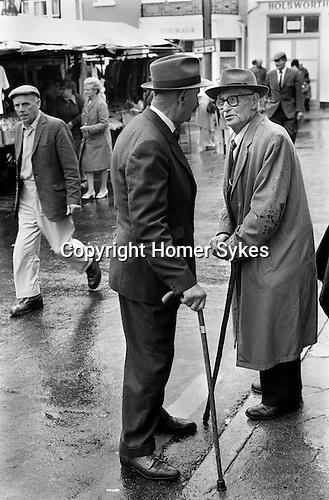 Market Day, Holsworthy Devon. 1970s England...My ref 5/1032/, 1975,
