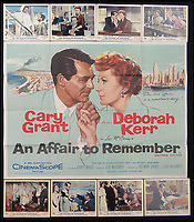 BNPS.co.uk (01202 558833)<br /> Pic: Burstow&amp;Hewett/BNPS<br /> <br /> An Affair to Remember starring Cary Grant &amp; Deborah Kerr and a set of 8 lobby cards.<br /> <br /> A late film buff's collection of 400 vintage movie posters has emerged for auction and is tipped to sell for &pound;15,000.<br /> <br /> The collection was amassed by a man who worked for several decades at the Marble Arch Odeon cinema in London which in its heyday was one of the capital's flagship cinemas.<br /> <br /> He sadly died a couple of years ago but bestowed the posters - which once were on display in the cinema - to a life-long friend who has decided to put them on the market.<br /> <br /> Many of the posters are from classic film franchises including Star Wars and James Bond as well as iconic Disney films such as Snow White and the Seven Dwarfs and Cinderella.