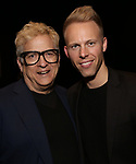 Ken Fallin and Justin Paul attends The Dramatists Guild Foundation Salon with Matt Gould on March 12, 2018 at StellarTower in New York City.