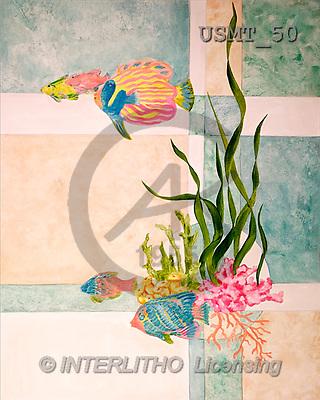 Malenda, FLOWERS, paintings, geo sea life(USMT50,#F#) Blumen, flores, illustrations, pinturas ,everyday