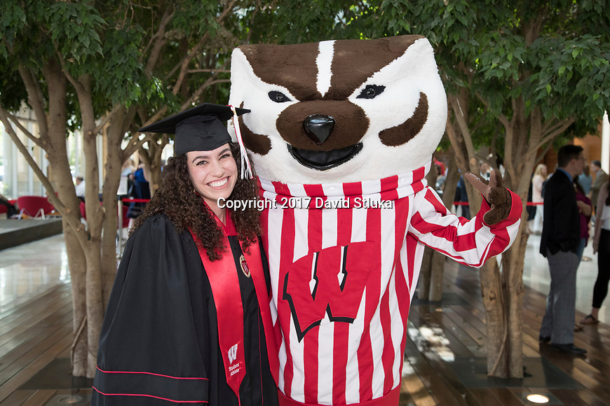 Wisconsin Badgers Student Athlete Graduate Reception Friday, May 12, 2017, in Madison, Wisconsin. (Photo by David Stluka)