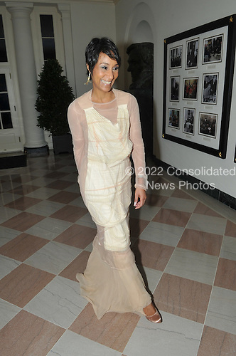 Washington, D.C. - November 24, 2009 --  Desirée Rogers, White House Social Secretary arrives for the State Dinner in honor of  Dr. Manmohan Singh, Prime Minister of India at the White House in Washington, D.C. on Tuesday, November 24, 2009..Credit: Ron Sachs / CNP.(RESTRICTION: NO New York or New Jersey Newspapers or newspapers within a 75 mile radius of New York City)