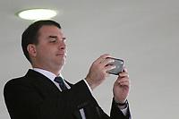 Brasilia (DF), 04/07/2019 -Flavio Bolsonaro, Senador PSL/RJ, durante a solenidade de posse do General Luiz Eduardo Ramos Baptista Pereira, Ministro de Estado Chefe da Secretaria de Governo da Presidência da República, nesta quinta-feira, 4. ( Foto Charles Sholl/Brazil Photo Press)