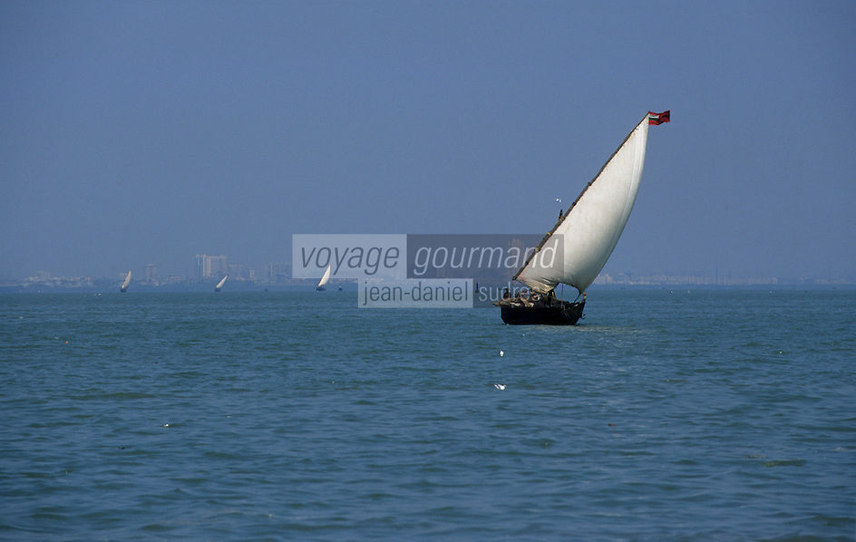 """Asie/Inde/Maharashtra/Bombay: Voiliers traditionnels """"Dhow"""""""