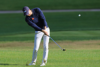 Will Besseling (NED) on the 7th fairway during Round 2 of the Challenge Tour Grand Final 2019 at Club de Golf Alcanada, Port d'Alcúdia, Mallorca, Spain on Friday 8th November 2019.<br /> Picture:  Thos Caffrey / Golffile<br /> <br /> All photo usage must carry mandatory copyright credit (© Golffile | Thos Caffrey)