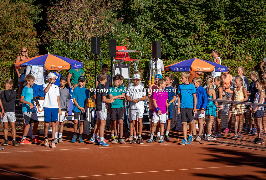 Hilversum, Netherlands, August 6, 2018, National Junior Championships, NJK, Opening<br /> Photo: Tennisimages/Henk Koster
