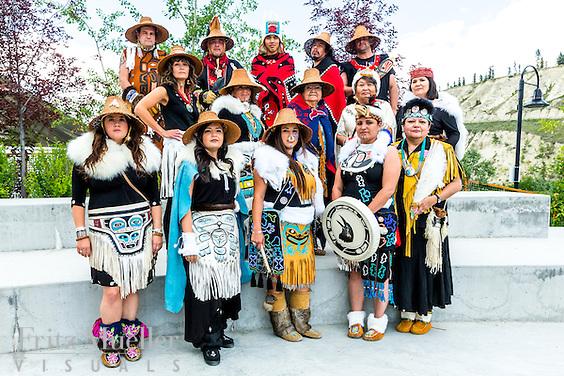Adaka Cultural Festival 2016, Whitehorse, Yukon, Canada, Yukon First Nation Culture and Tourism Association, Kwanlin Dun Cultural Centre, Dakhká Khwáan Dancers, DKD
