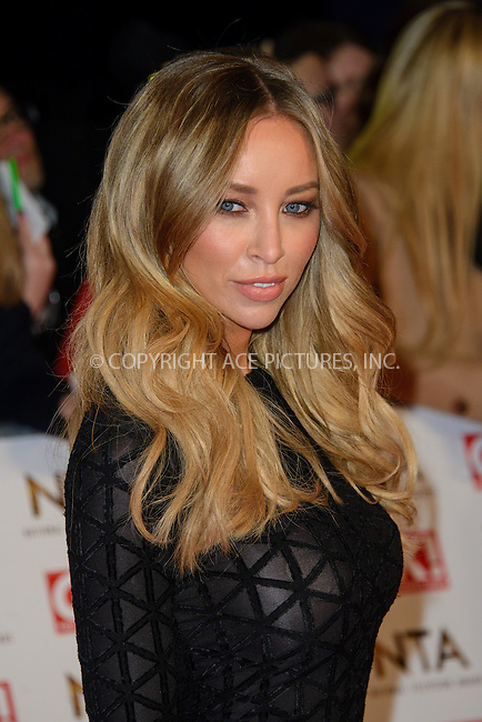 WWW.ACEPIXS.COM<br /> <br /> January 20 2015, London<br /> <br /> Lauren Pope attends the National Television Awards at the O2 Arena on January 21 2015 in London<br /> <br /> <br /> By Line: Famous/ACE Pictures<br /> <br /> <br /> ACE Pictures, Inc.<br /> tel: 646 769 0430<br /> Email: info@acepixs.com<br /> www.acepixs.com