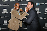 tiki Barber and Arthur Mandel Attend GLORY Sports International (GSI) Presents GLORY 12 Kick Boxing World Championship NEW YORK, LIVE on SPIKE TV, from the Theater at Madison Square Garden, NY
