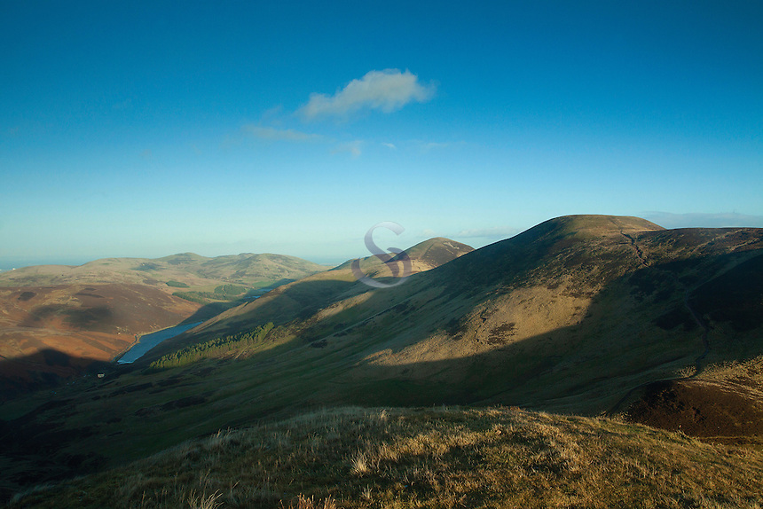 Scald Law and Carnethy Hill from East Kip, The Pentland Hills, The Pentland Hills Regional Park, Lothian