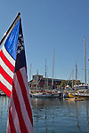 Port Townsend, Wooden Boat Festival, 2014, Port Hudson Marina, boat harbor, classic wooden boats, yachts, Olympic Peninsula, Washington State, Pacific Northwest, United States,
