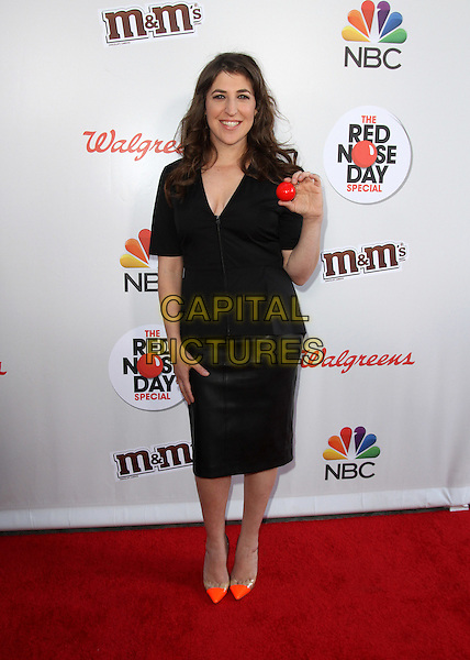 26 May 2016 - Los Angeles, California - Mayim Bialik. The Red Nose Day Special on NBC held at Universal Studios. <br /> CAP/ADM<br /> &copy;ADM/Capital Pictures