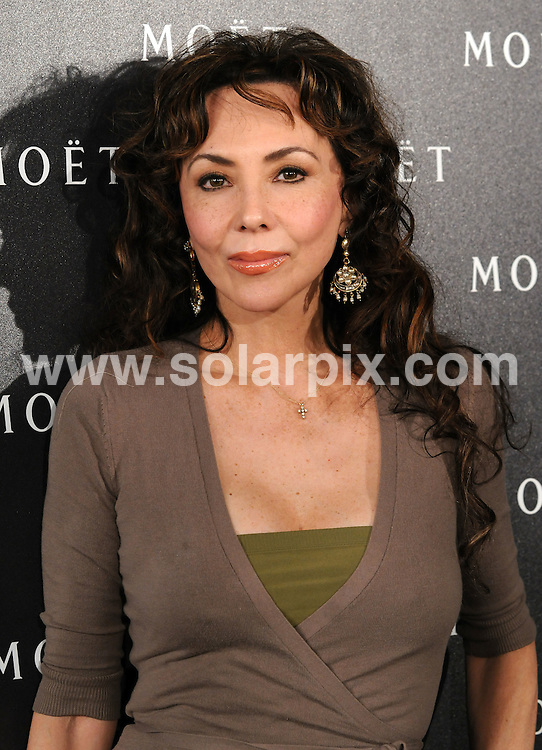 **ALL ROUND PICTURES FROM SOLARPIX.COM**.**WORLDWIDE SYNDICATION RIGHTS**.Moet and Chandon: A Tribute to Cinema party at Big Sky Studios, London, UK. 24 March 2009..This pic: Marie Helvin..JOB REF: 8711 SSD     DATE: 24_03_2009.**MUST CREDIT SOLARPIX.COM OR DOUBLE FEE WILL BE CHARGED**.**ONLINE USAGE FEE GBP 50.00 PER PICTURE - NOTIFICATION OF USAGE TO PHOTO @ SOLARPIX.COM**.**CALL SOLARPIX : +34 952 811 768 or LOW RATE FROM UK 0844 617 7637**