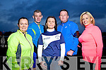 Annemarie Winter, Daniel O'Connor, Caroline McConnell, Jim McNeice, Tommy Leahy and Marilyn O'Shea, who are training hard for the Kerry's Eye International Marathon.