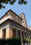 Rome, Italy; May 27, 2012 -- Basilica church Santa Croce in Flaminio; architecture, culture, art -- Photo: © HorstWagner.eu