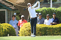 Haydn Porteous (RSA) in action during the first round of the Magical Kenya Open presented by ABSA, played at Karen Country Club, Nairobi, Kenya. 14/03/2019<br /> Picture: Golffile | Phil Inglis<br /> <br /> <br /> All photo usage must carry mandatory copyright credit (&copy; Golffile | Phil Inglis)