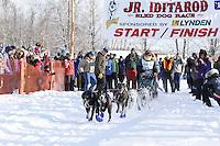 Saturday February 25, 2012   at Knik Lake during the Junior Iditarod start.  Abigail Brooks