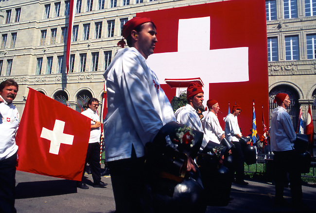 Parade, Independence Day, Zurich, Switzerland