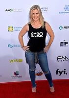 SANTA MONICA, CA. September 07, 2018: Alison Sweeney at the 2018 Stand Up To Cancer fundraiser at Barker Hangar, Santa Monica Airport.