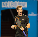 Andy Murray (GBR) defeats Grigor Dimitrov (BUL) 6-4, 6-7, 6-3, 7-5