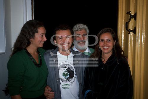 Hampstead, England. Liz Hosken, Ed Posey, may East and Julio Barbosa.
