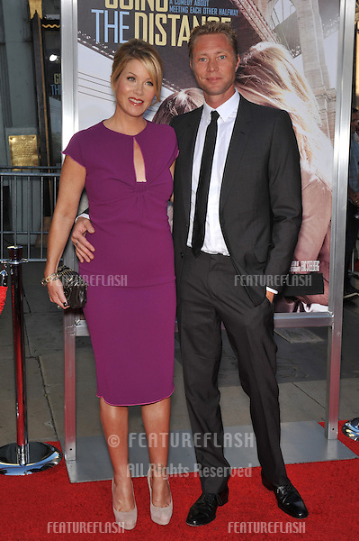 """Christina Applegate & fiancé Martyn LeNoble at the Los Angeles premiere of her new movie """"Going the Distance"""" at Grauman's Chinese Theatre, Hollywood..August 23, 2010  Los Angeles, CA.Picture: Paul Smith / Featureflash"""