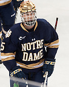 Andrew Oglevie (Notre Dame - 15) - The Boston College Eagles defeated the University of Notre Dame Fighting Irish 6-4 (EN) on Saturday, January 28, 2017, at Kelley Rink in Conte Forum in Chestnut Hill, Massachusetts.The Boston College Eagles defeated the University of Notre Dame Fighting Irish 6-4 (EN) on Saturday, January 28, 2017, at Kelley Rink in Conte Forum in Chestnut Hill, Massachusetts.