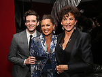 Michael Urie, Vanessa Williams and Mercedes Ruehl attends the Off-Broadway Opening Night After Party for the Second Stage Production on 'Torch Song' on October 19, 2017 at Copacabana in New York City.