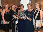 Sisters Dyna Donegan, Theresa Giggins, Mary Martin, Bernadette Conlon and Ann Moonan pictured at the Ardee Traders annual awards night in the Nuremore Hotel. Photo:Colin Bell/pressphotos.ie