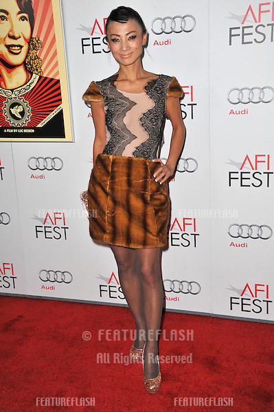 """Bai Ling at the premiere of """"The Lady"""", part of the 2011 AFI Fest, at Grauman's Chinese Theatre, Hollywood..November 4, 2011  Los Angeles, CA.Picture: Paul Smith / Featureflash"""